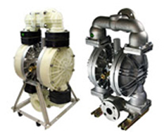 TC-X500, AODD Pumps, Air Operated Double Diaphragm Pumps